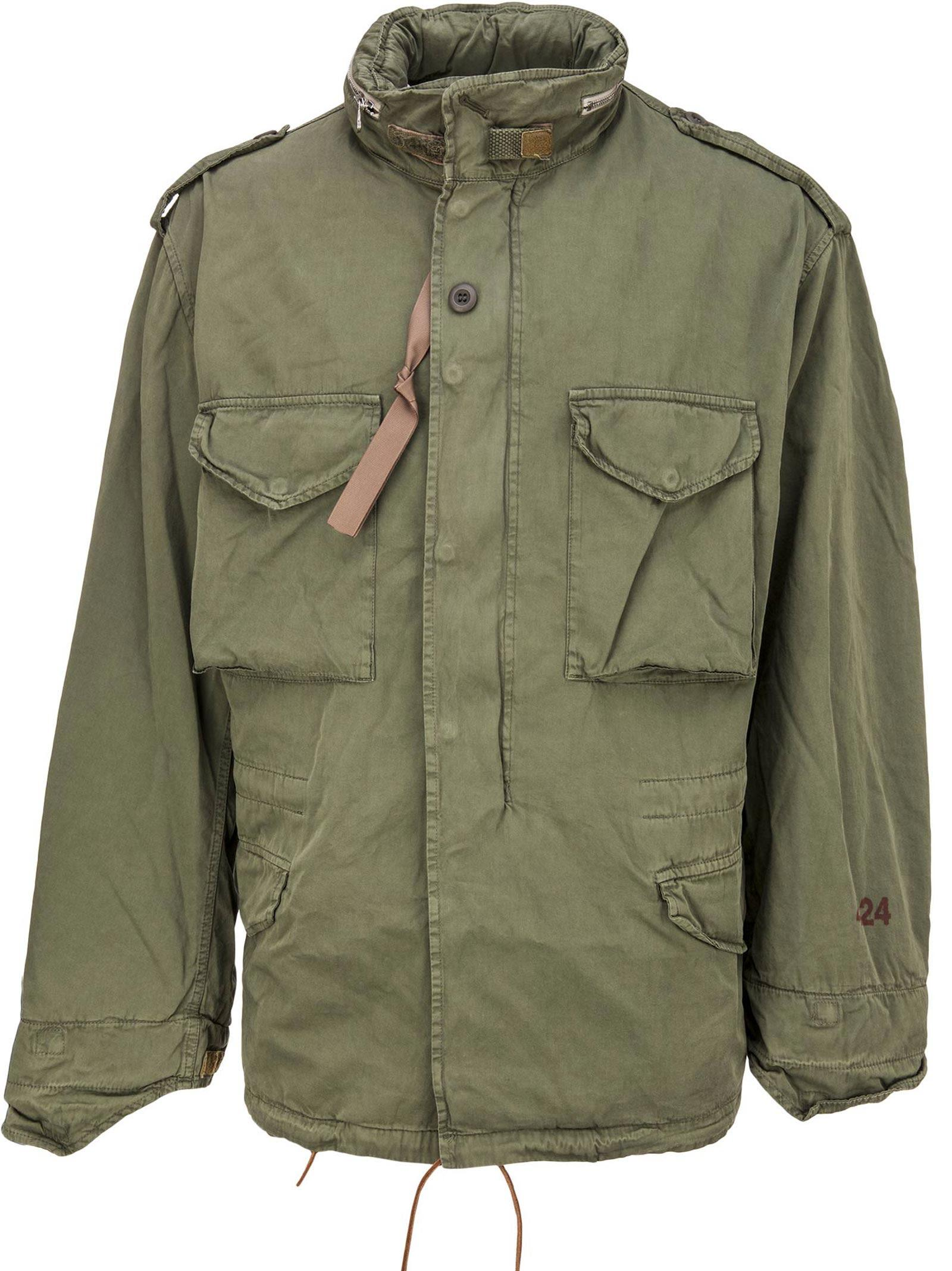 479a07d62 424 X Alpha X Slam Jam Jacket in Field