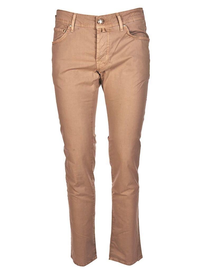 Jacob Cohen Classic Jeans In Beige