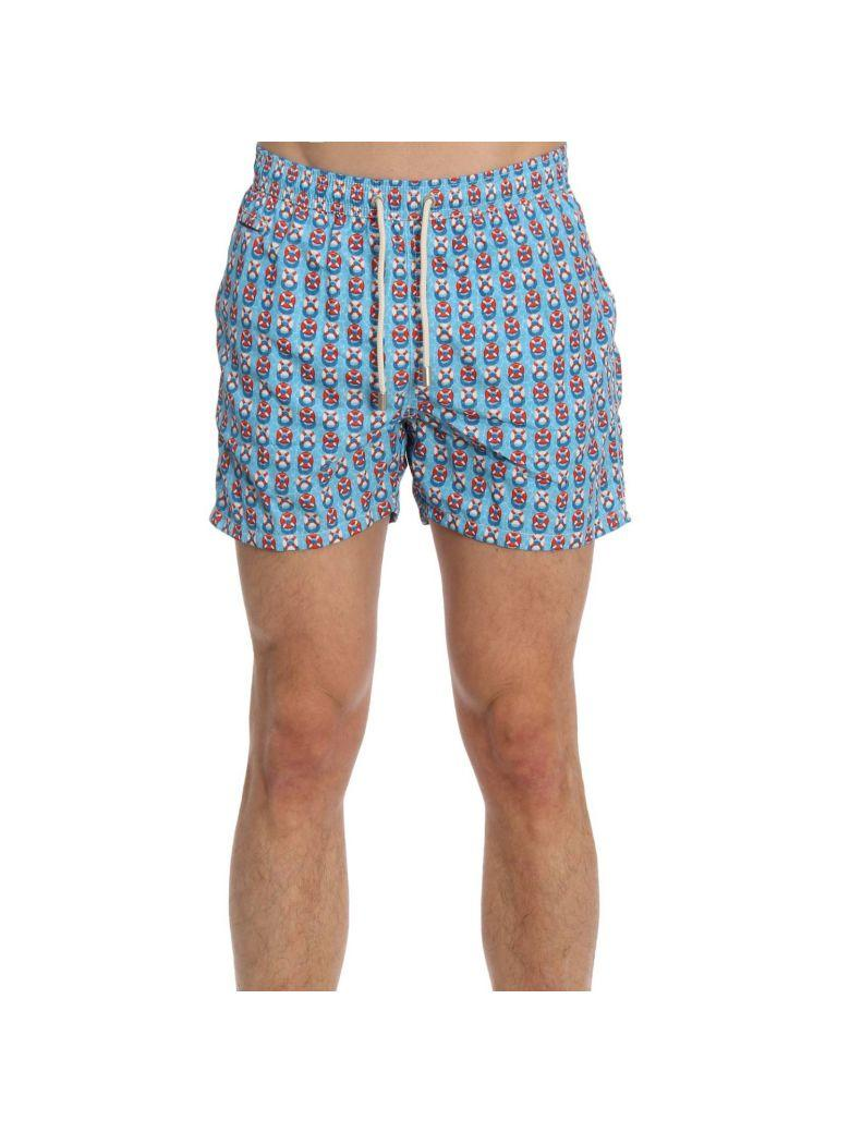 6043ded0fe Mc2 Saint Barth Swimsuit Swimsuit Men In Gnawed Blue | ModeSens