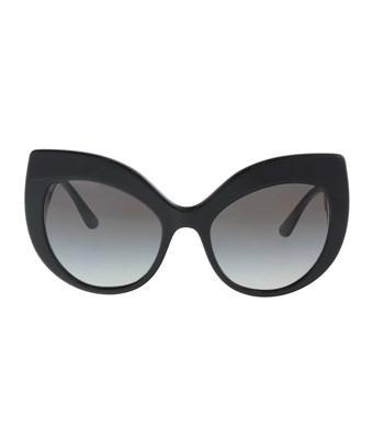 1511089107e5 Dolce   Gabbana Dg4321 501 8G Black Cat Eye Sunglasses