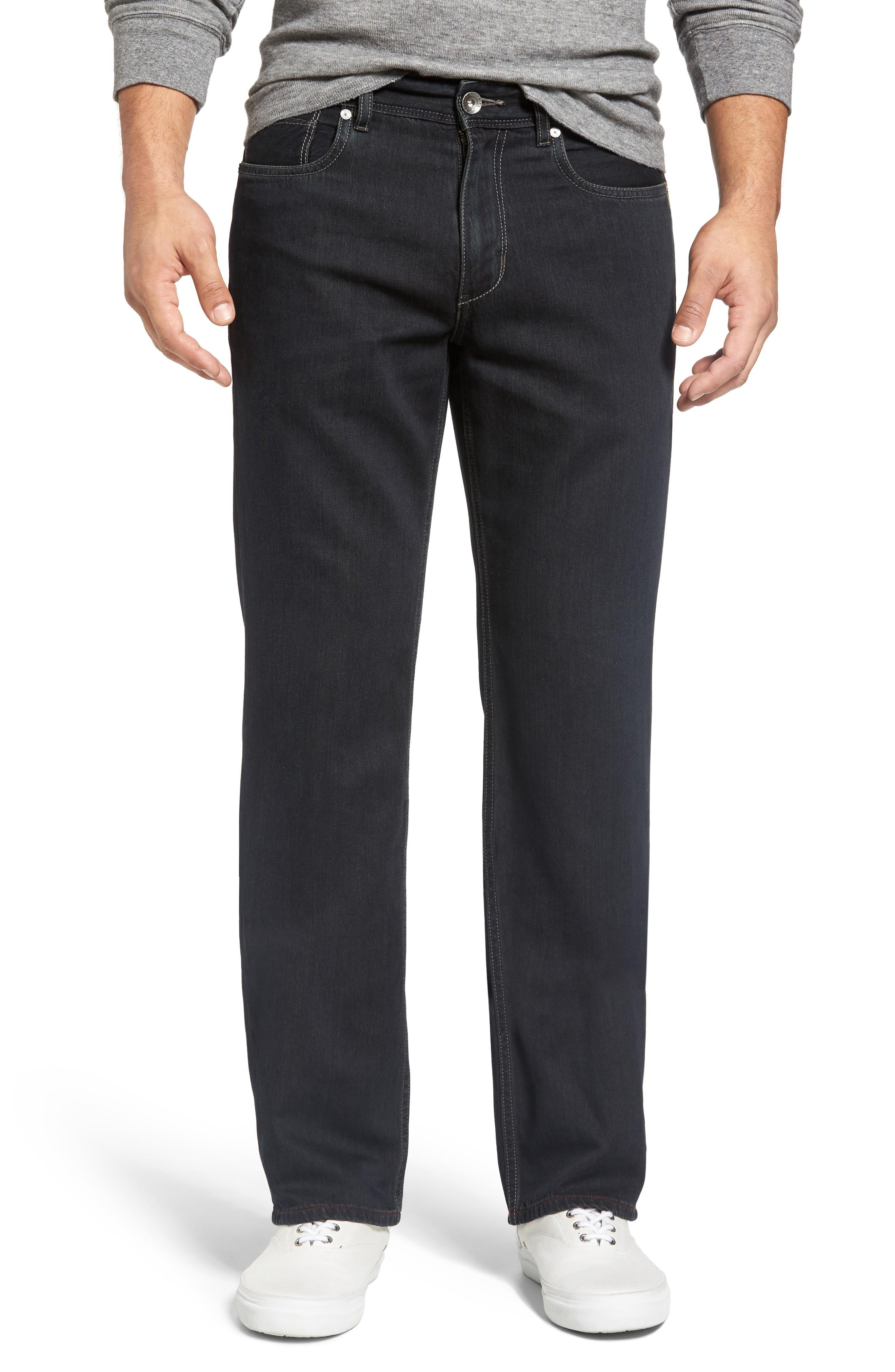 ce96ff5e9 Tommy Bahama Cayman Island Relaxed Fit Straight Leg Jeans In Black Overdye