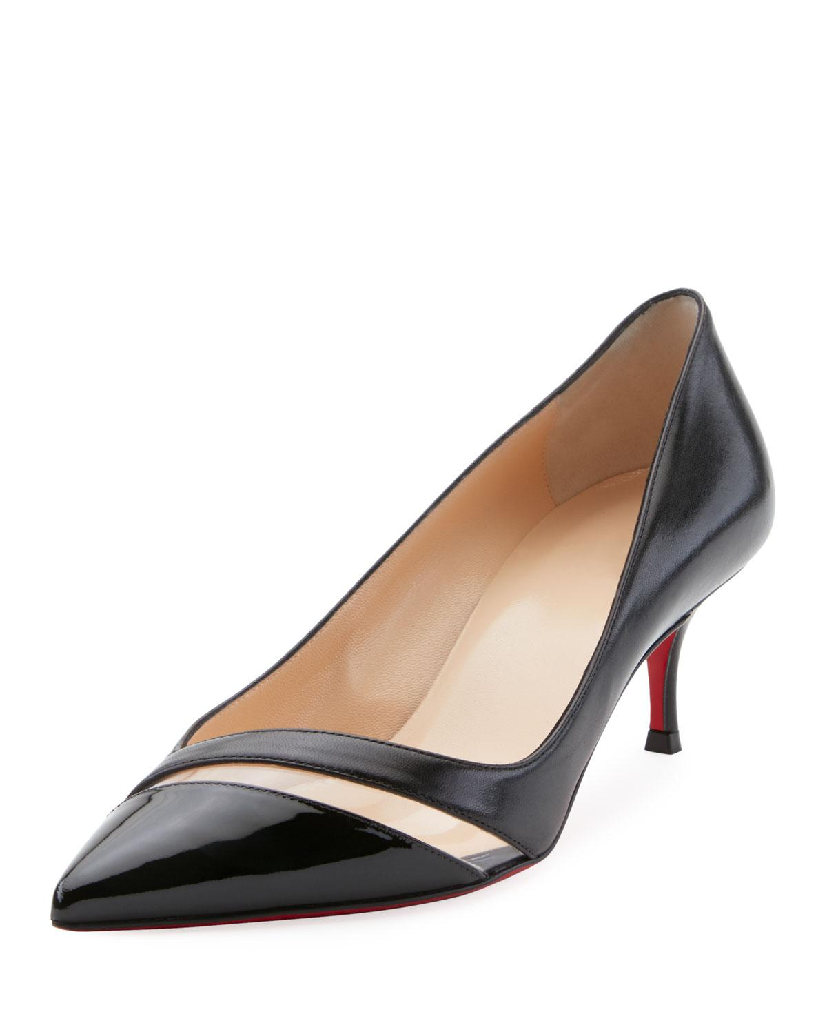 bd536c76f7ef ... to a classic patent pump that will take you beautifully from the office  water cooler straight through to cocktail hour. Style Name  Christian  Louboutin ...
