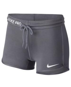 148155d843 Nike Pro Vintage-Look Shorts In Dark Grey | ModeSens