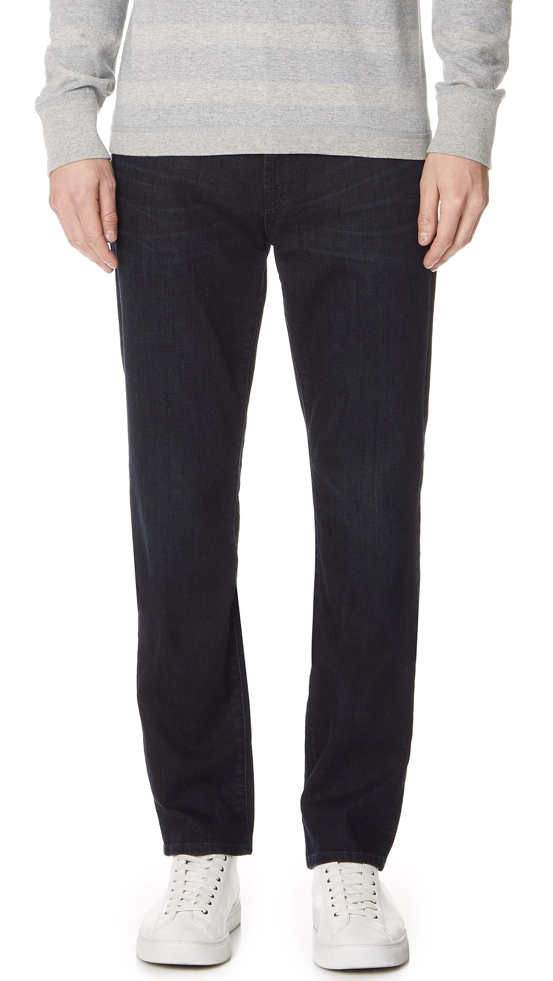 27c4cc4f 7 For All Mankind Slimmy Jeans In Dark Abyss | ModeSens