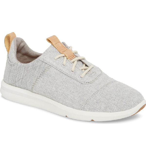 2c8017b8e8c Toms Cabrillo Sneaker In Drizzle Grey Chambray Mix