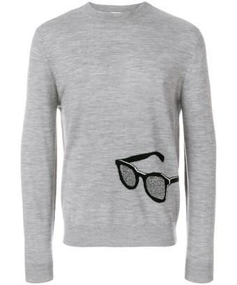 Paul Smith Men's  Grey Wool Sweater