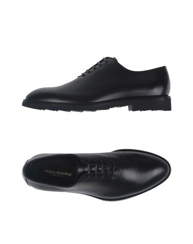 Dolce & Gabbana Laced Shoes In Steel Grey