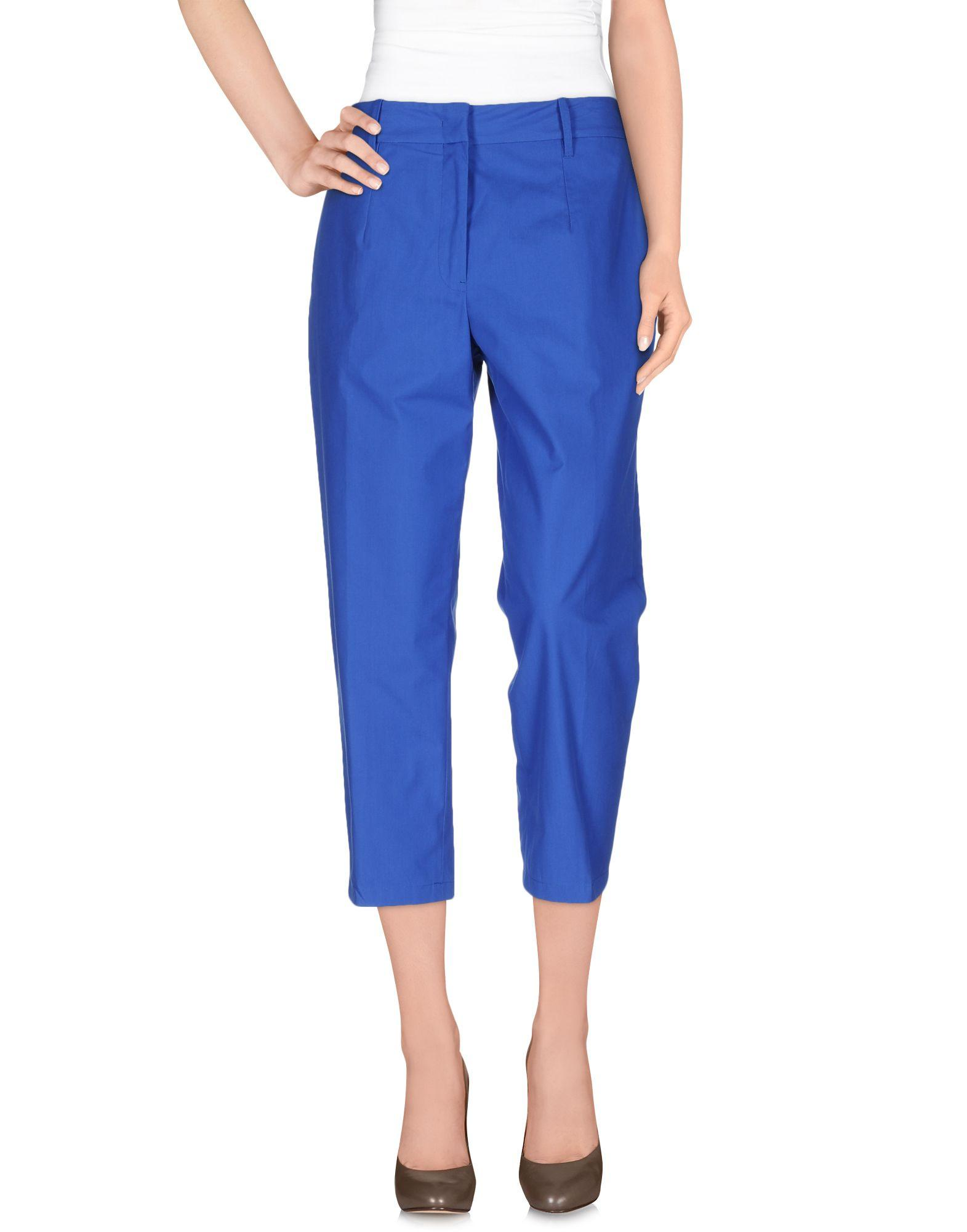 Jil Sander Cropped Pants & Culottes In Blue