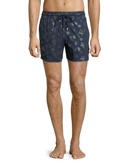 1d528856cb Vilebrequin Men Swimwear - Men Stretch Swimwear MordorÉ - Swimming Trunk -  Moorise In Blue