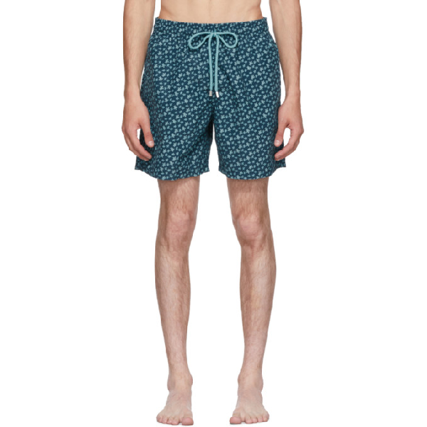 Vilebrequin Men Swimwear - Men Swimtrunks Micro Ronde Des Tortues - Swimwear - Moorea In Embruns