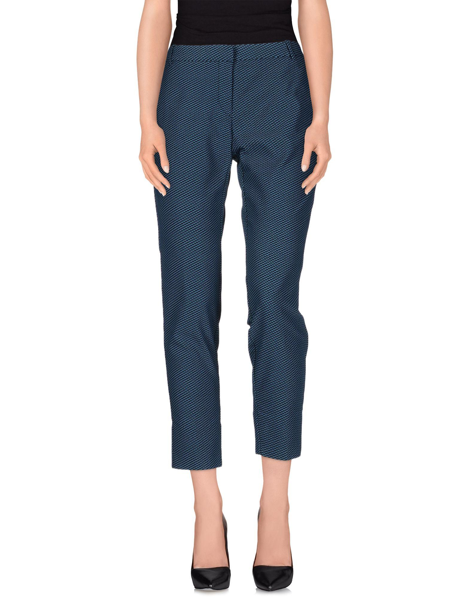 Teresa Dainelli Casual Pants In Slate Blue