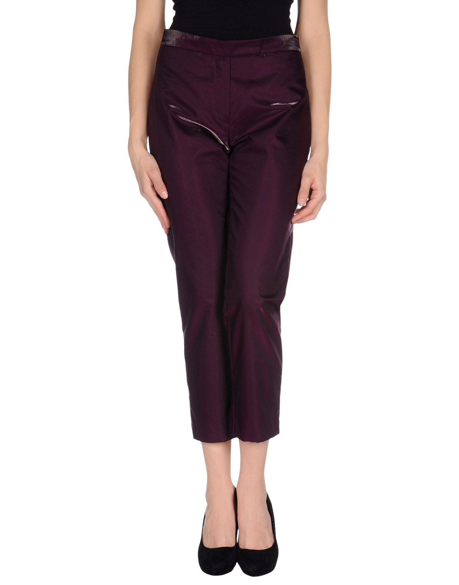 Ann Demeulemeester Casual Pants In Garnet