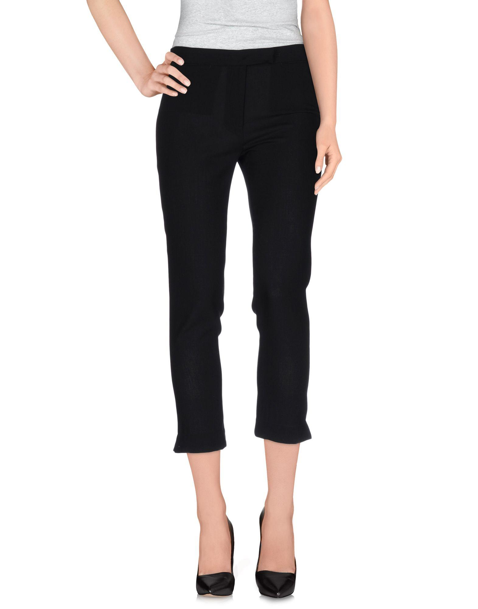 Ann Demeulemeester Casual Pants In Black