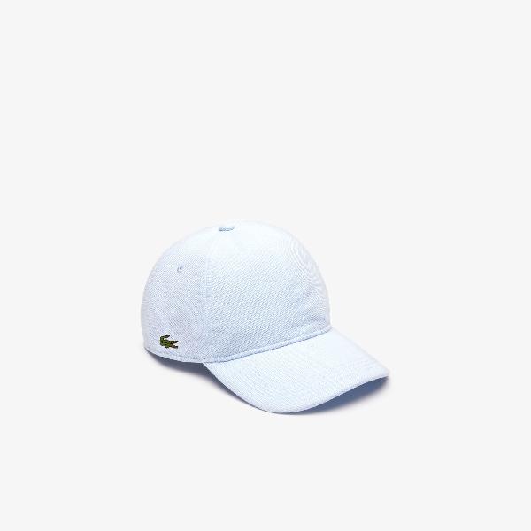 520e071ccb Men's Cotton Piqué Cap in Light Blue