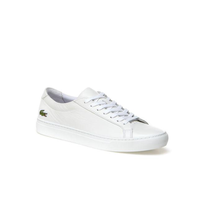 a2cd6dae6f683c Lacoste Men s L.12.12 Leather Sneakers In White