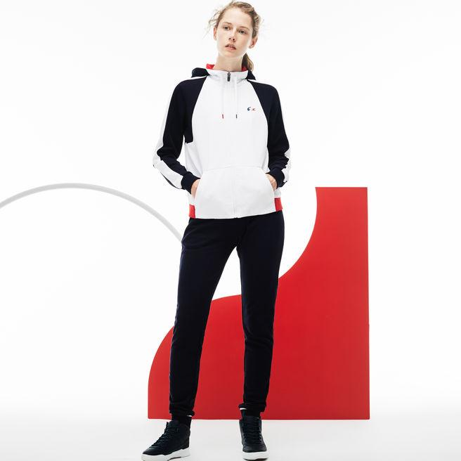 192c221b20 Women's French Sporting Spirit Edition Fleece Sweatpants in Navy Blue /  White / Red