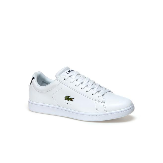 0428917e6 Lacoste Men s Carnaby Evo Bl Leather Sneakers In White