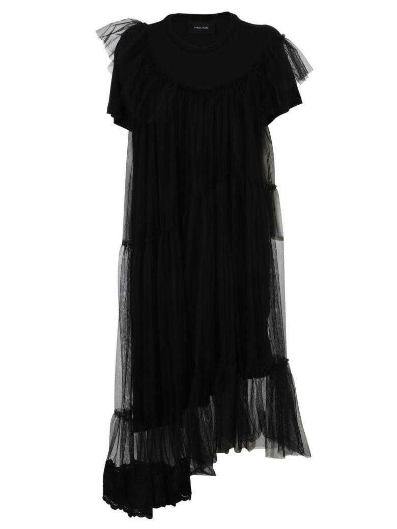 Simone Rocha Tulle Dress In Black