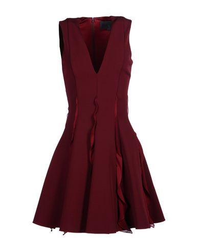 Cushnie Et Ochs Short Dress In Maroon