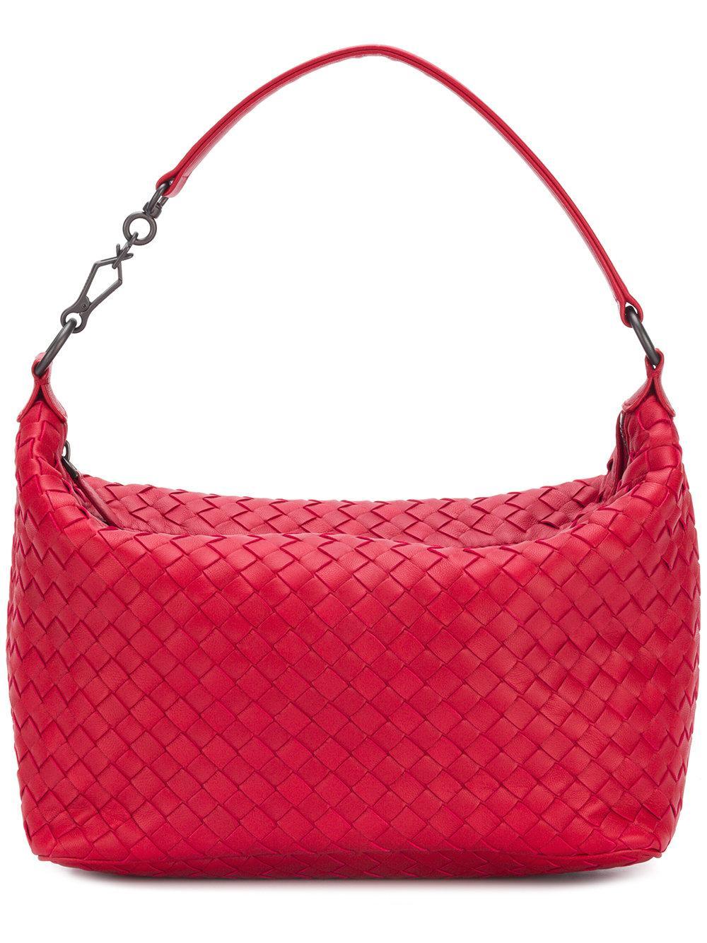Bottega Veneta Small East-West Zip Hobo Bag In Medium Gray  f3412ef1f380d