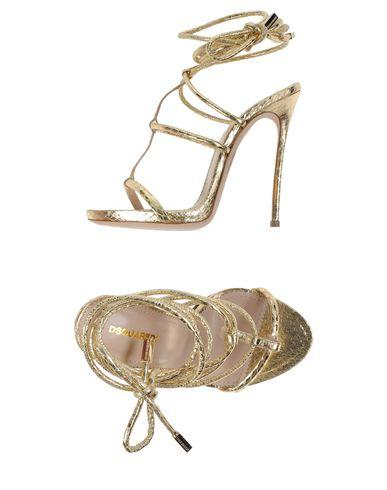 701c450d2 Dsquared2 Sandals In Gold