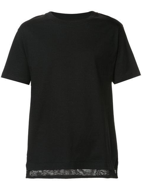 Public School Mesh Layered T-Shirt