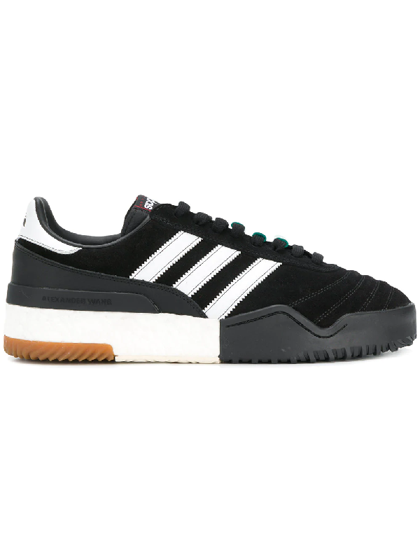 dc7d813f1 Adidas Originals By Alexander Wang Adidas By Alexander Wang Basketball  Soccer Sneakers In Black In Black&White