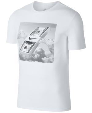 Nike Men's Sportswear Photo Graphic T-Shirt In White