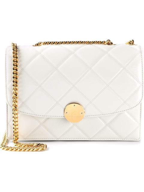 Marc Jacobs 'Quilted Trouble' Crossbody Bag - White