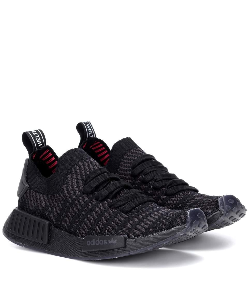 check out 897e7 a36d7 Nmd R1 Primeknit Sneakers in Black