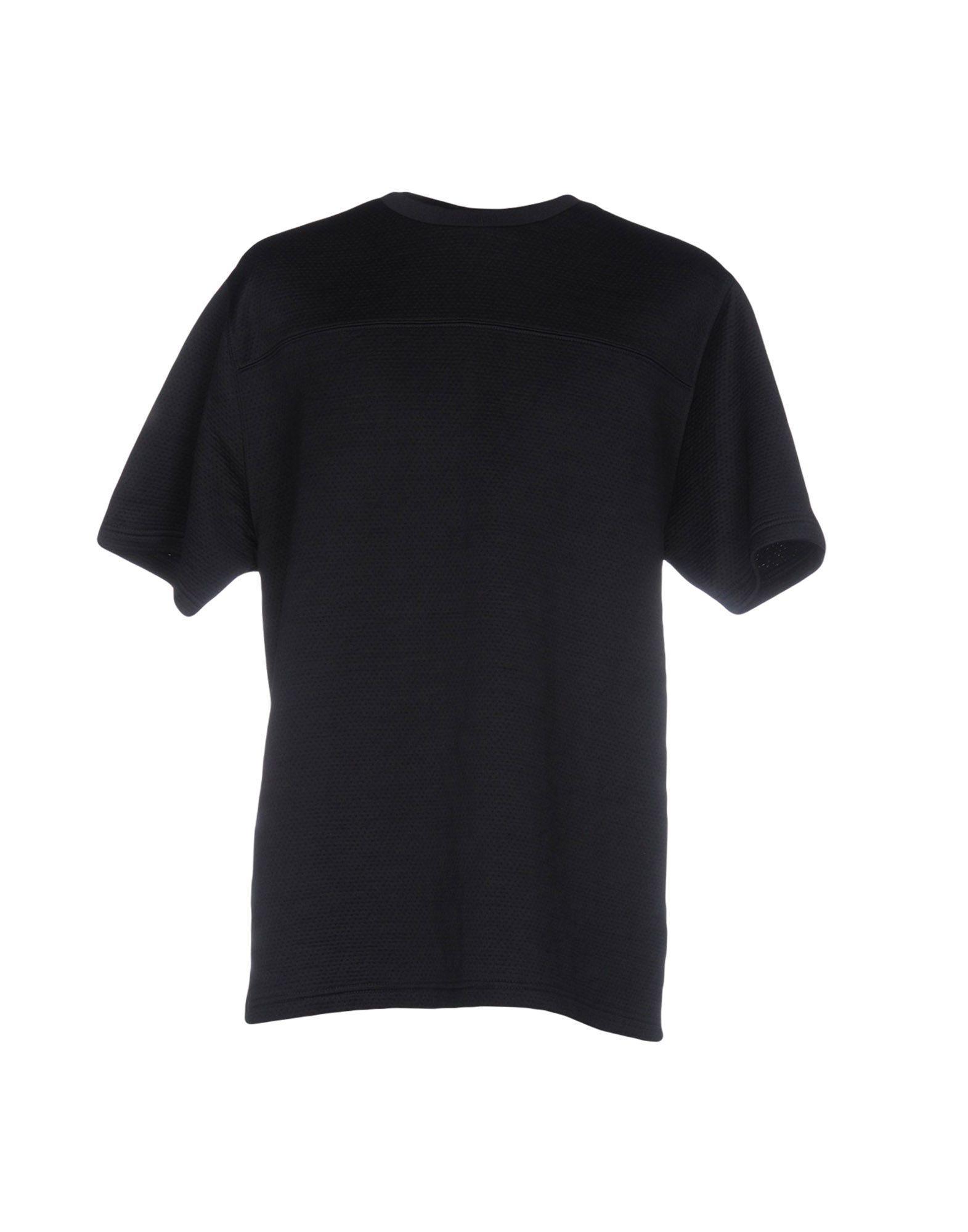 T By Alexander Wang T-Shirt In Dark Blue