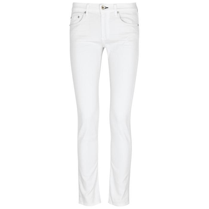 Rag & Bone Dre White Slim-boyfriend Jeans