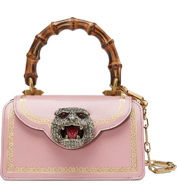 336d2d5c388 Gucci Thiara Small Bamboo Top-Handle Bag