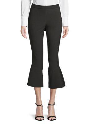 Saks Fifth Avenue Casual Ankle Pants In Black