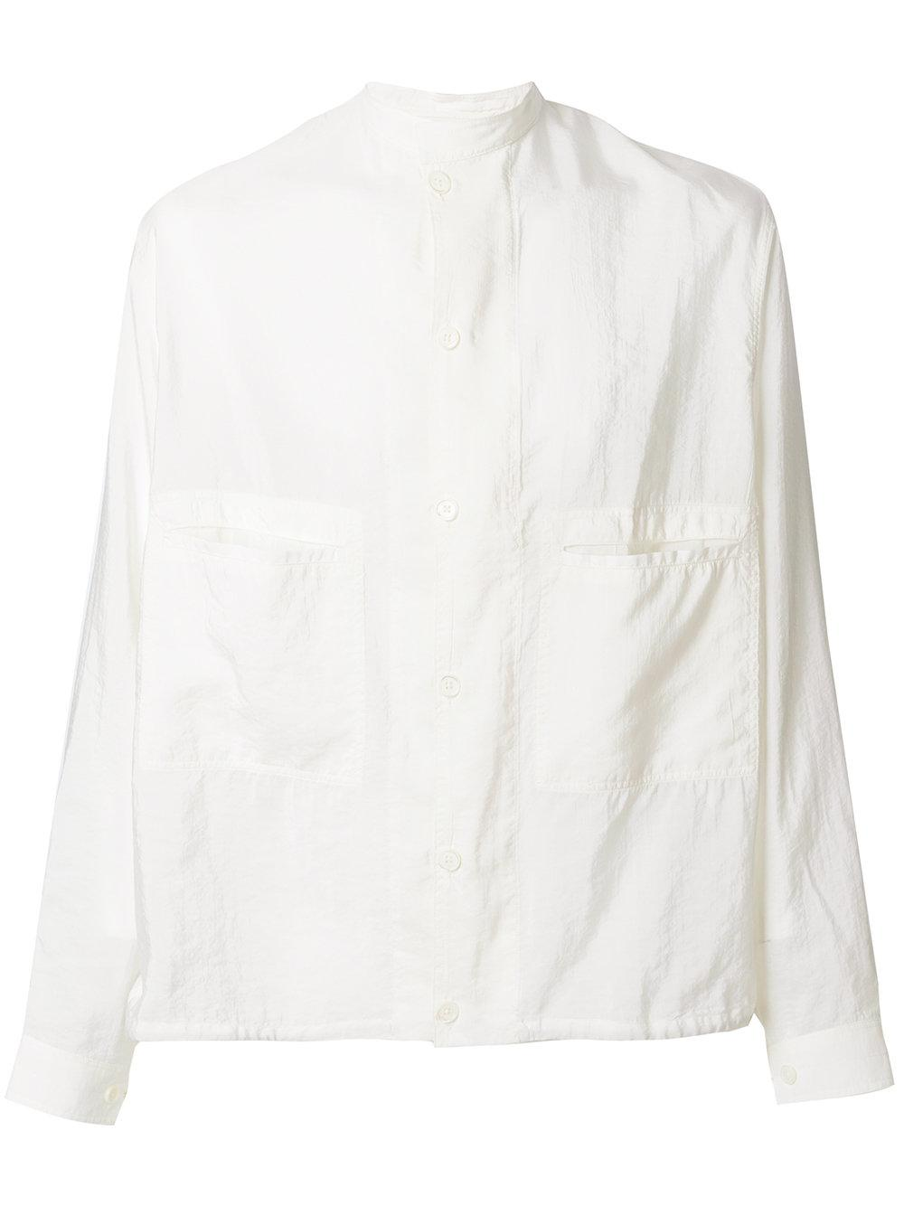 Lemaire Mandarin Collar Shirt