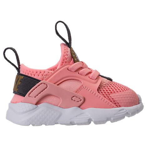 0194c6aa1e452 Nike Girls  Toddler Air Huarache Run Ultra Casual Shoes