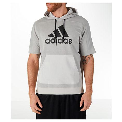 adidas Sport ID Hoodie | 3 Stripes | Kangaroo Pocket | OTH