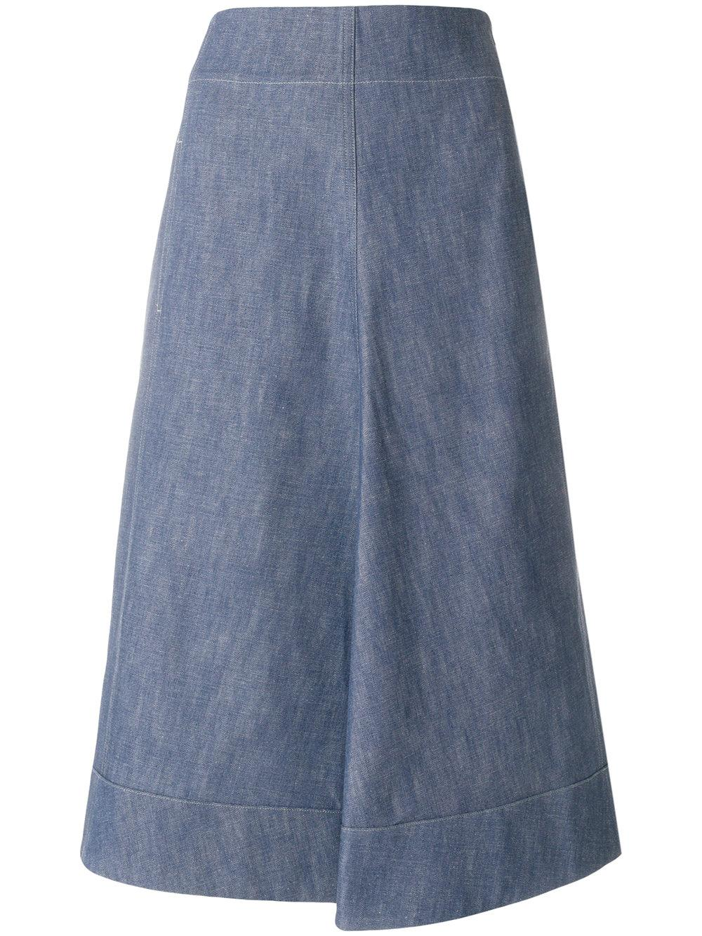Lemaire Flared Midi Skirt