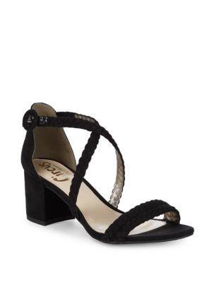 952af8fb43e Circus By Sam Edelman Sallie Braided Block-Heel Sandals In Black ...
