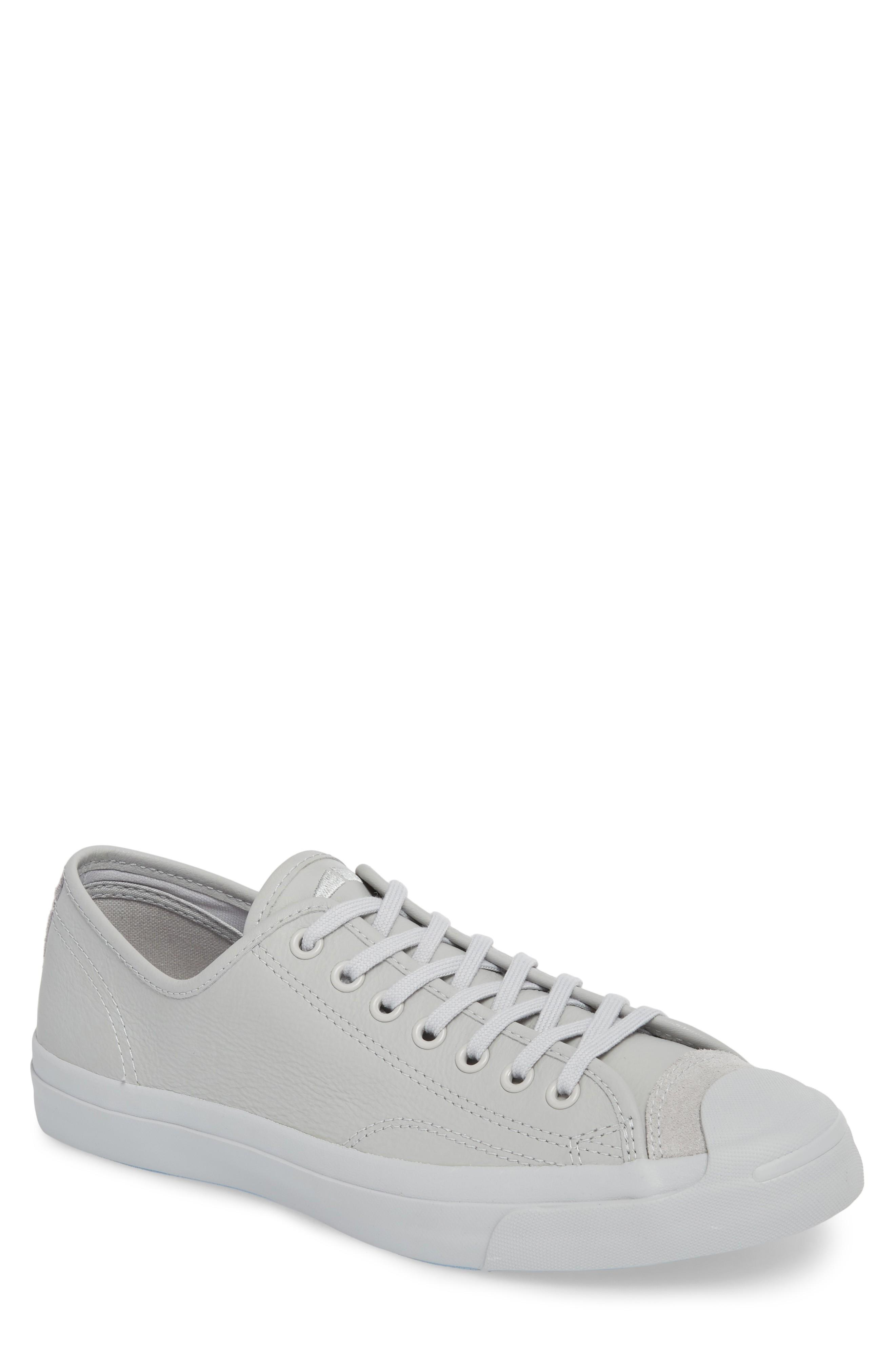 5b6afb5bca6d Converse Jack Purcell Marble Wash Sneaker In Ash Grey Leather