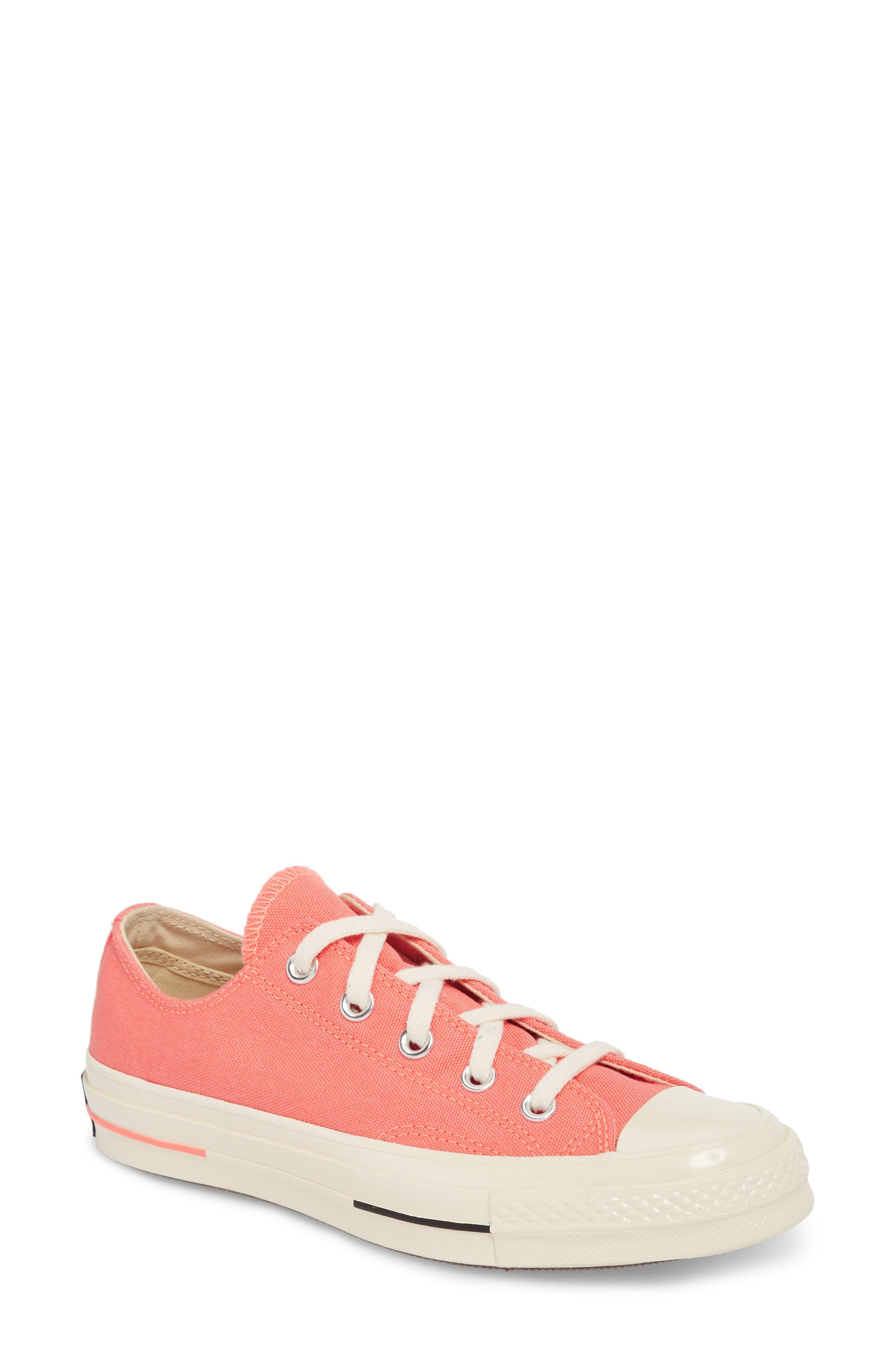 Converse Chuck Taylor All Star '70S Brights Low Top Sneaker In Crimson