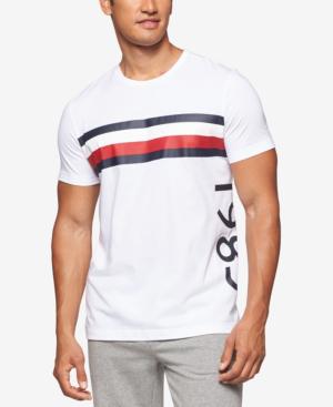 4b143d78c Tommy Hilfiger Men's Modern Essentials Cotton Logo T-Shirt In White ...