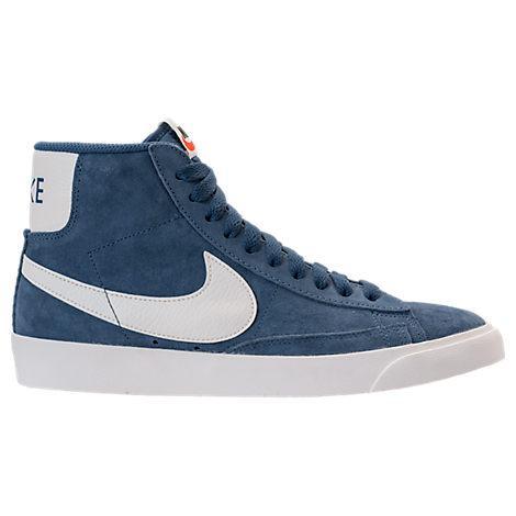 huge discount 1ec9e e6b9f Nike Women s Blazer Mid Vintage Suede Casual Shoes, Blue