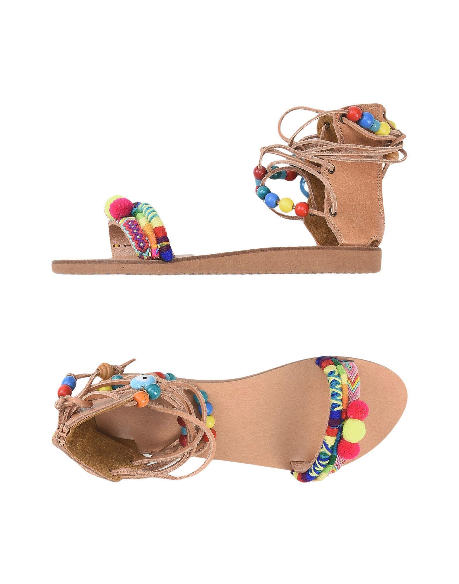 Elina Linardaki Sandals In Fuchsia