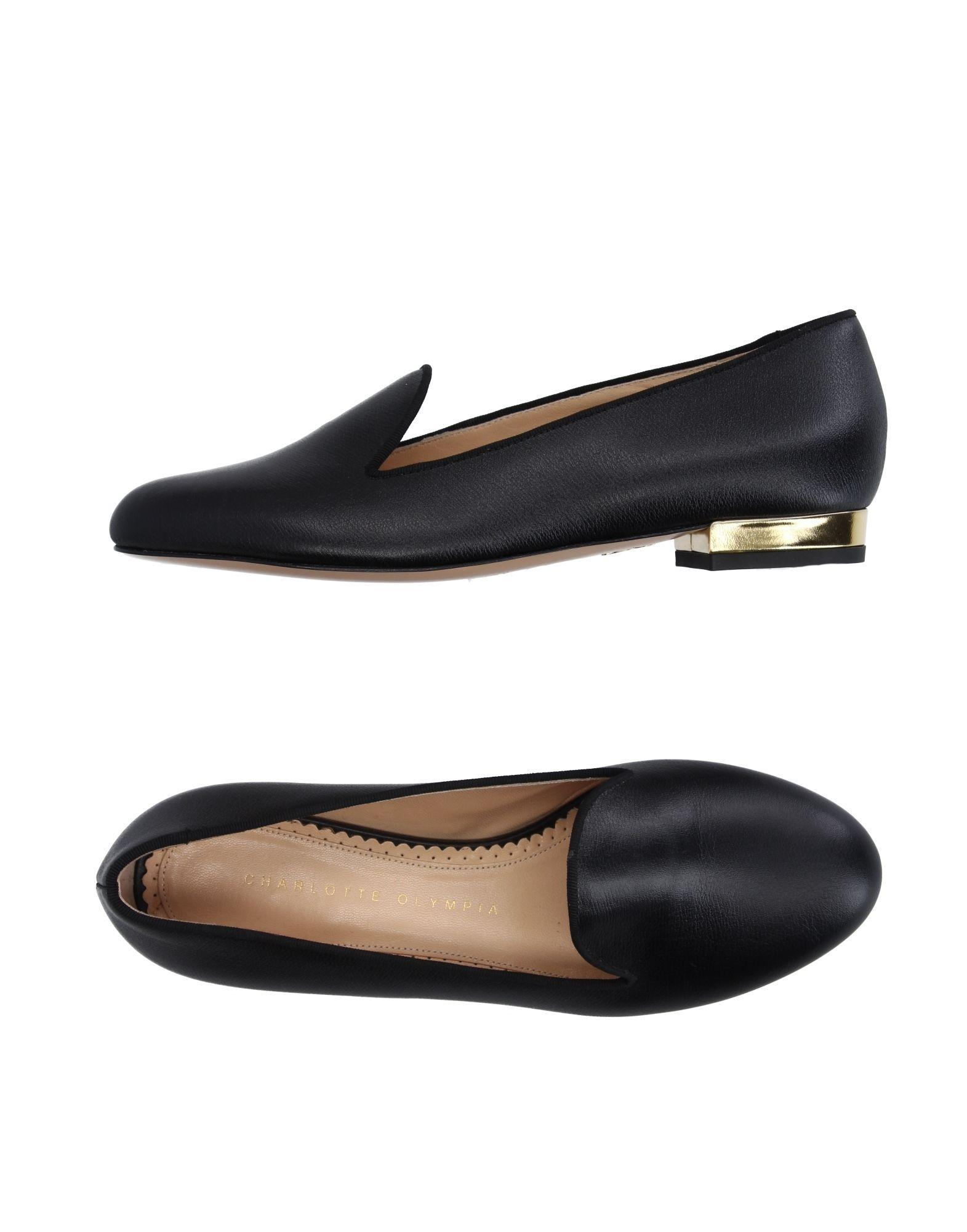 Charlotte Olympia Loafers In Black