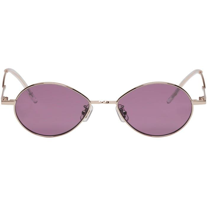 089220882d48 Gentle Monster Silver And Purple Cobalt Sunglasses In Violet