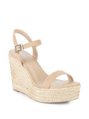 2cfe918b567 Lizzie Espadrille Wedge Sandals in Nude