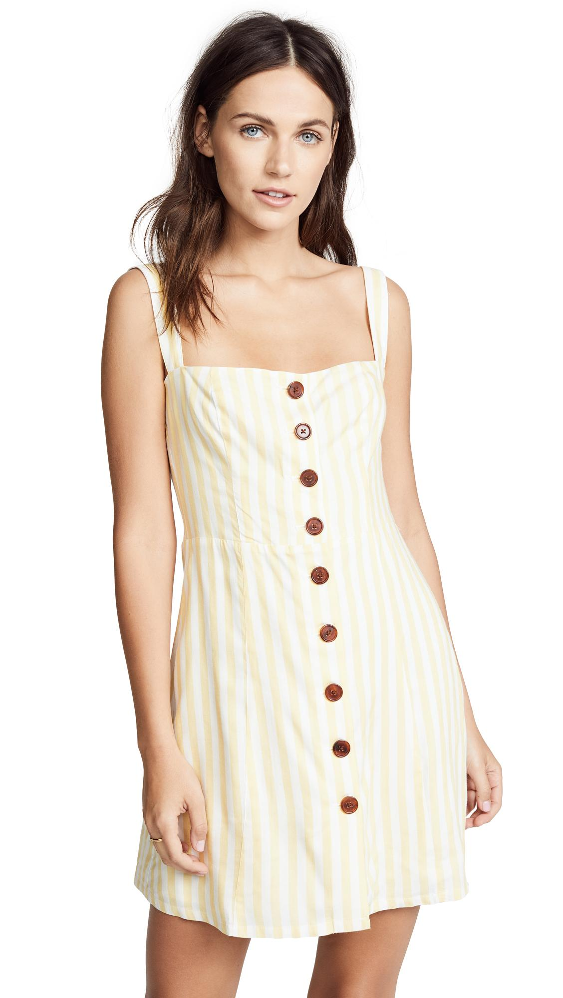 8d456d30dfd1 Capulet Emma Mini Dress In Pollen Stripe | ModeSens