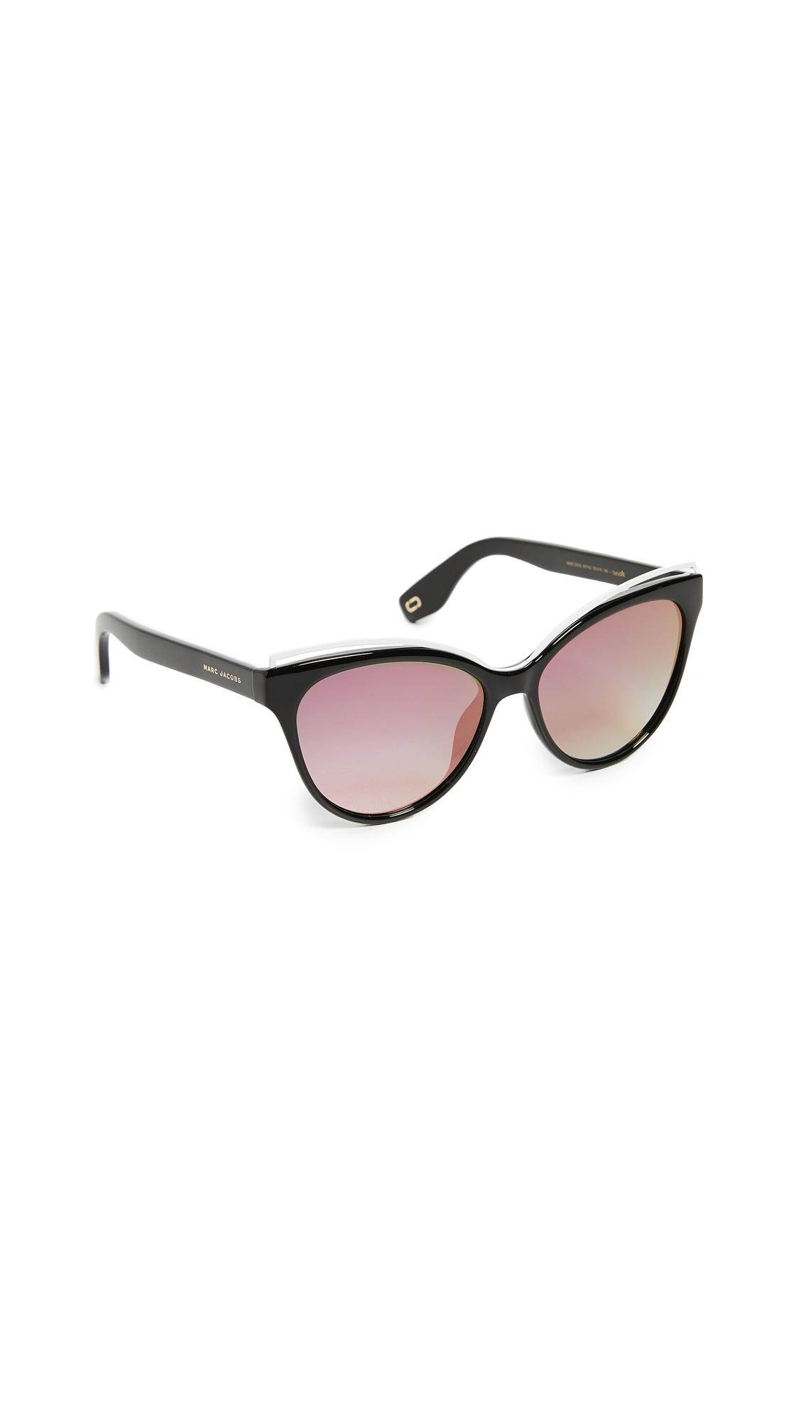 810b85c6b794 Marc Jacobs Cat Eye Frame Sunglasses In Pink Dark Grey
