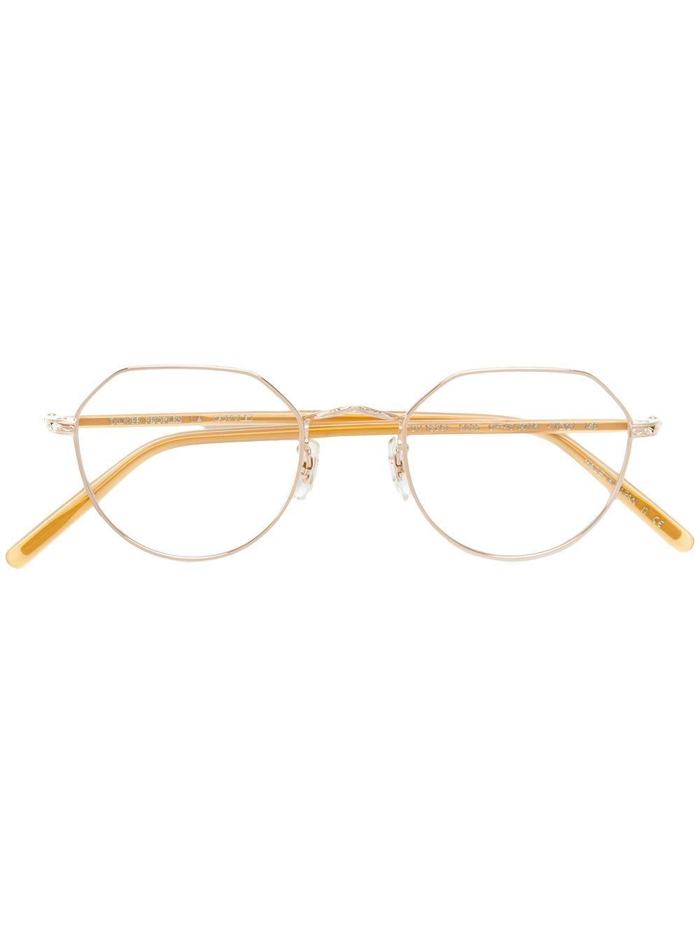 44a53329812 Oliver Peoples  Op-43 30Th  Brille - Metallisch In Metallic